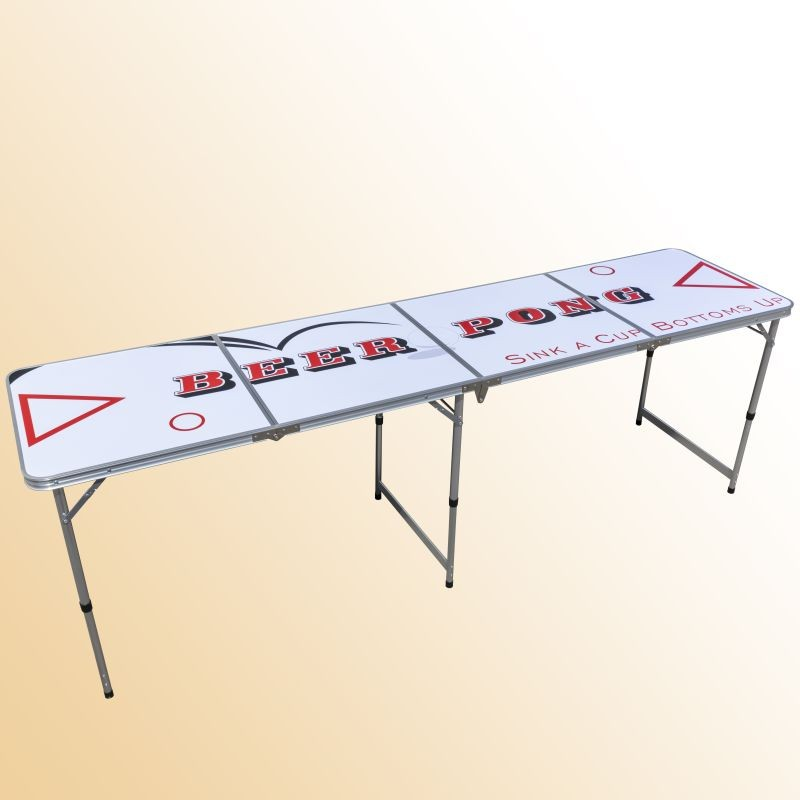 beer pong table beer party game fu ball weltmeisterschaft camping tisch ebay. Black Bedroom Furniture Sets. Home Design Ideas